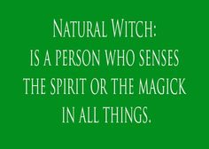 A Natural Witch