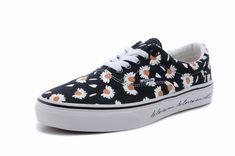 216b97841d49e8 Buy Vans Era Chrysanthemum Black Womens Shoes Christmas Deals HXrikm from  Reliable Vans Era Chrysanthemum Black Womens Shoes Christmas Deals HXrikm  ...