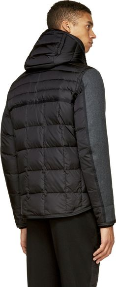 Moncler Black Quilted Down Ryan Jacket