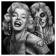 girly pin up tattoos - yahoo Image Search Results