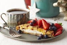 An Overnight Stuffed French Toast Recipe that is great as a flavorful option with friends