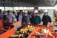 Visit of Agricultural Scientists Team From ANGRAU