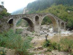 Devil's Bridge in Rhodope Mountains Bulgaria