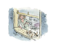 Quentin Blake, Picture Editor, Ordinary Lives, Touring, Fine Art, Gallery, Drawings, Illustration, Life