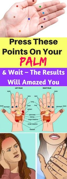 Press These Points On Your Palm And Wait – The Results Will Amazed You – healthycatcher