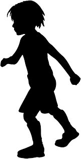 Image result for images silhouette of children