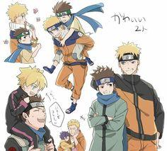 El Hermano pequeño de Naruto, y su Sucesor :'3 ..Si que han crecido... By_Lizi`G.H -w-