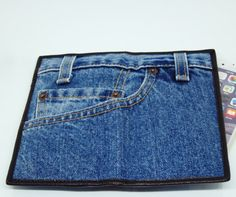 New Denim WALLET Handbag Long bag Wallet JEANS PURSE Handbag