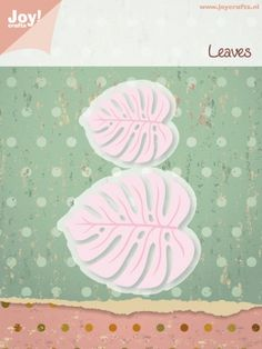 Crafts Cut and Emboss Dies, Larger Leaves Scrapbooking Photo, Diy Scrapbook, Scrapbook Pages, Home Crafts, Arts And Crafts, Diy Crafts, Online Craft Store, Craft Stores, Fabric Crafts