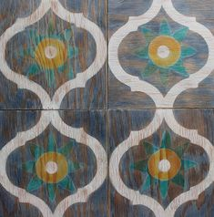 wooden removable wall tiles
