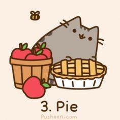 Pusheen the cat gif Gato Pusheen, Pusheen Stickers, Chat Kawaii, Cutest Cats Ever, Simons Cat, Dibujos Cute, Cute Kawaii Drawings, Cat Art, Cute Wallpapers