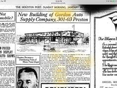 Morris Gordon The Houston Post. (Houston, Tex.), Vol. 37, No. 300, Ed. 1 Sunday, January 29, 1922 Page: 22