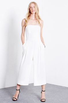 Warehouse Culotte Bandeau Jumpsuit (£75)