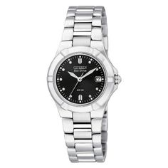 Citizen Eco-Drive Riva Ladies' Steel Bracelet Watch- H. Samuel the Jeweller