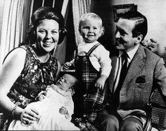 Beatrix, Claus, Alexander en Friso, 1968