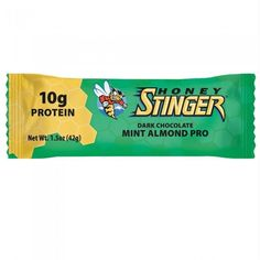 Honey Stinger Honey Dark Chocolate Mint Almond (15x1.5 Oz)