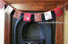 Alternative Christmas decoration? Festive bunting.