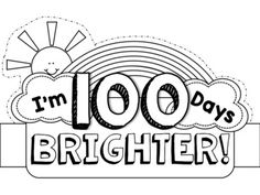 Here is a little crown freebie for the 100th day of school