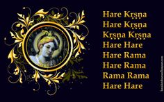 To view Holy Name wallpapers in difference sizes visit - http://harekrishnawallpapers.com/chant-hare-krishna-mahamantra-artist-wallpaper-024/