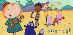 Peg + Cat Apps Best Kid Movies, Garden Mural, Early Math, Pbs Kids, Applications, Movies 2019, Best Tv Shows, Kids Bedroom, Literacy
