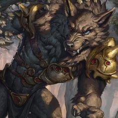 sixthleafclover: Hey there little red. #werewolf #bigbadwolf #sixthleafclover #fantasy