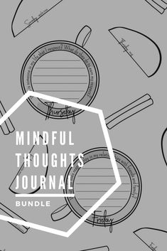 Mindful Thoughts Journal Bundle: Mindfulness Activities