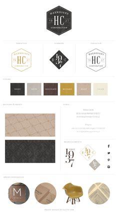 Business Branding by Salted Ink Digital Design Co. - California New Brand Launch: Haendiges Corporation Web Design, Blog Design, Logo Inspiration, Brand Book, Identity Design, Brand Identity, Grafik Design, Business Branding, Fashion Branding