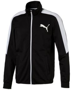 wholesale dealer 8f83e 4c749 Puma Men s Tricot Track Jacket - Black XXL Zapatillas Puma, Ropa Deportiva,  Moda,
