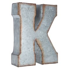 Small Galvanized Metal Letters Small Galvanized Letter  A  There Is No Place Like Home
