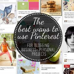 The best ways to use Pinterest for blogging and business projects.