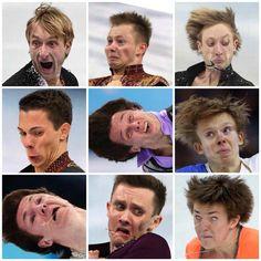Ice-skating  HD cameras =