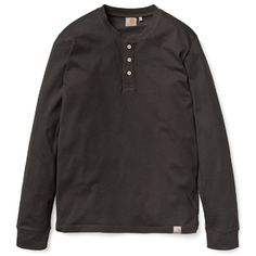 Carhartt WIP L/S Henley in Federal