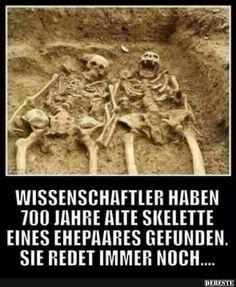 Wissenschaftler haben 700 jahre alte Skelette eines ehepaares gefunden.. | Lustige Bilder, Sprüche, Witze, echt lustig