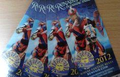 I won these 4 Renaissance Pleasure Faire Tickets. Bristol Renaissance Faire, I Win