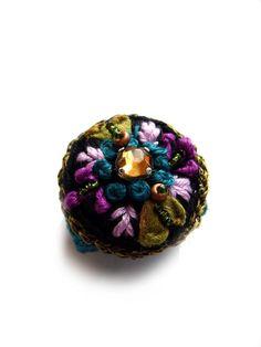 ••• Häkelring fleur ••• RESERVIERT von crochet.jewels auf DaWanda.com