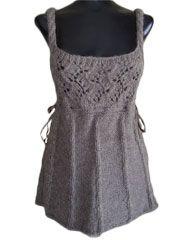 Romantic cables and Lace Vest
