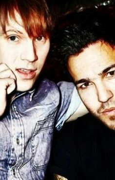 I swear, Patrick looks just like the Franz Ferdinand singer, in this picture.