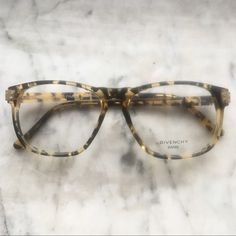 51fd549652 Givenchy Paris Eyeglass Frames Amazing nerdy tortoise and gold Givenchy  frames. Plastic lenses are display