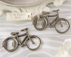 """Bicycle Bottle Opener by Kate Aspen  