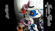 sombreros para mujer, sombreros panama, sombreros pintados a mano #sombreros aguadeños pintados a mano #sombrerospintadosamano, sombrerosparamujer