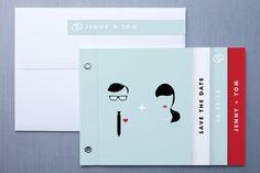 Visage Save the Date Minibook™ Cards