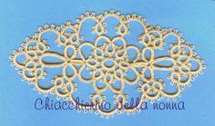 Chiacchierino della nonna: Medaglione ovale