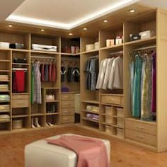 fotos de vestidores y closets de estilo moderno de astidkora