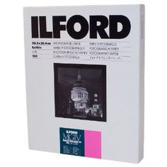 Ilford Multigrade IV RC Deluxe Resin Coated VC Paper, 8x10, 100 Pack (Glossy) **Great for Contact Sheets