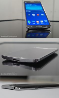The Samsung Galaxy Round is the first phone with a curved display. It literally rocks and rolls.