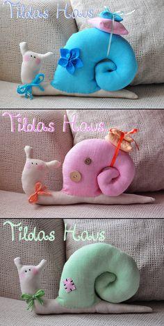My Tilda Snails. Elena Kolodko