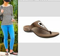 869d169189b4dd Vionic Orthaheel Women s size 10 EU 41 Yara Bronze Thong Comfort Sandals  Shoes