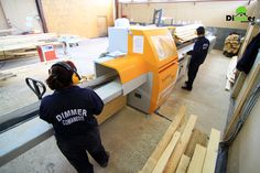 """Line of """"SALVADOR woodworking machinery"""" is intended to provide semifinished wood by optimal shortening, depending on the size of the timber to be obtained but at the same time considering the elimination of wood defects."""