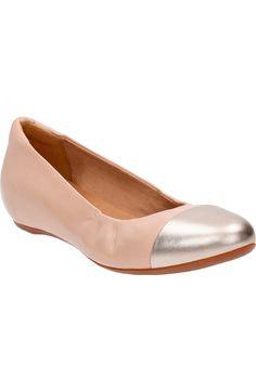 Clarks® 'Alitay Susan' Cap Toe Flat (Women) at Nordstrom.com. $99.95