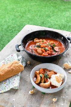 Italiaans stoofpotje met kip - Brenda Kookt! Barbecue